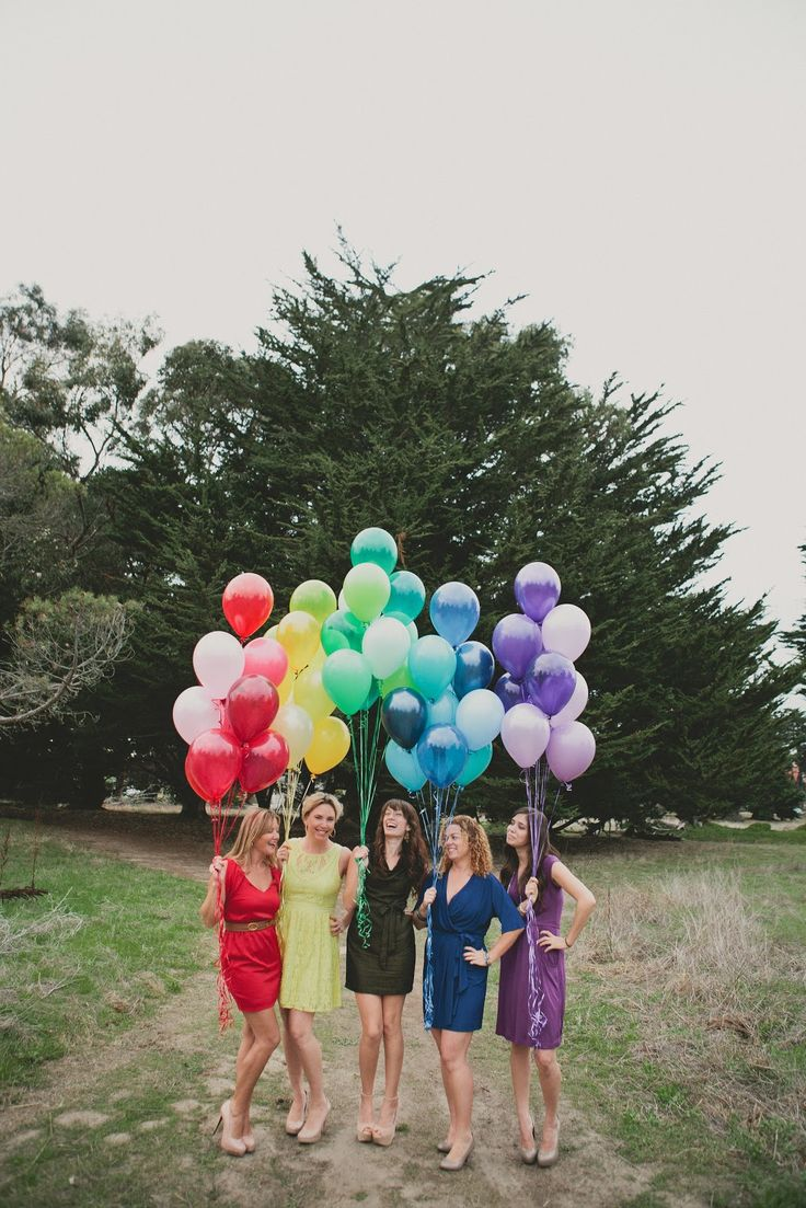 Could be cute for bridesmaides!  Good idea for a fun photo shoot! :) (Couture Girl Photo Shoot  Photo by Sun and Life Photography)