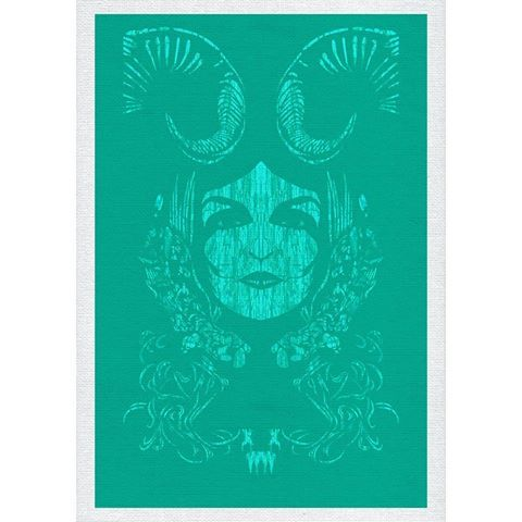 #XWWX #Goddess #Devine #Turquoise #Elixir #Original #Art #print #Elrac #Secret #Face #xwwxgallery #Grafton #Flyford #Pagan #Queen #Mother #Earth #Ethereal #Supernatural #Mystical #Psychic #Powers #Unknown #hidden #occult #Mystic #instart #Nohj #Nohjxwwx