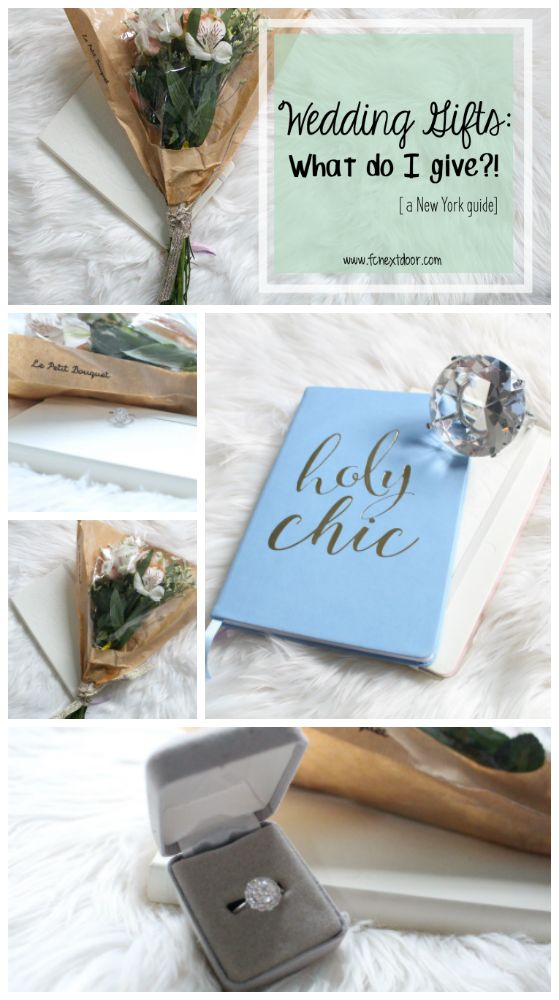 Fit Chick's - Wedding Gifts: What Do I Give?
