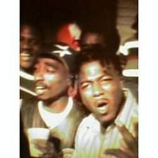 Tupac and Spice 1- (SF Bay Area rappers)
