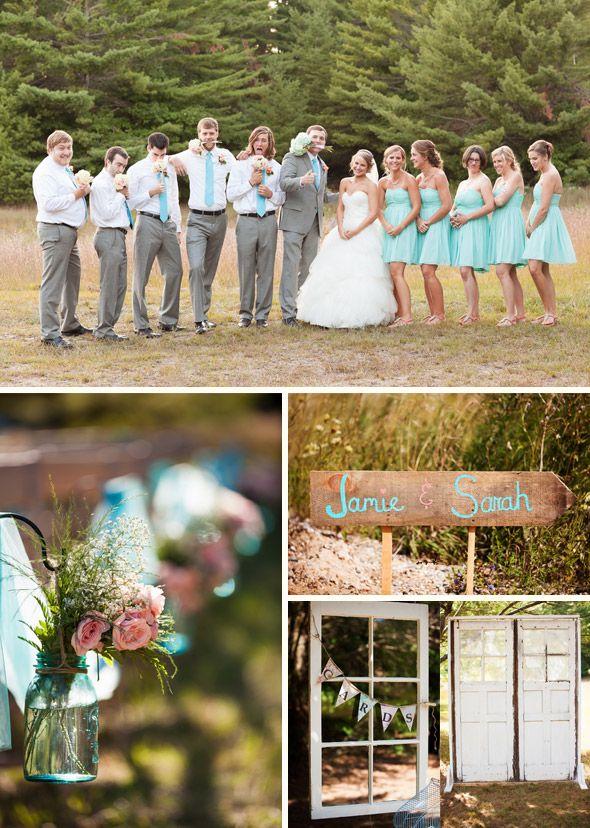 Outdoor Michigan Ranch Wedding