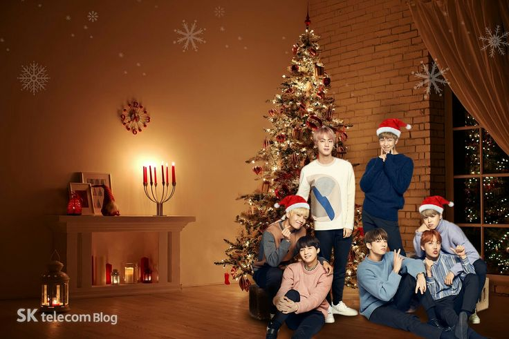 BTS x SK telecom MERRY CHRISTMAS ❤ #BTS #방탄소년단