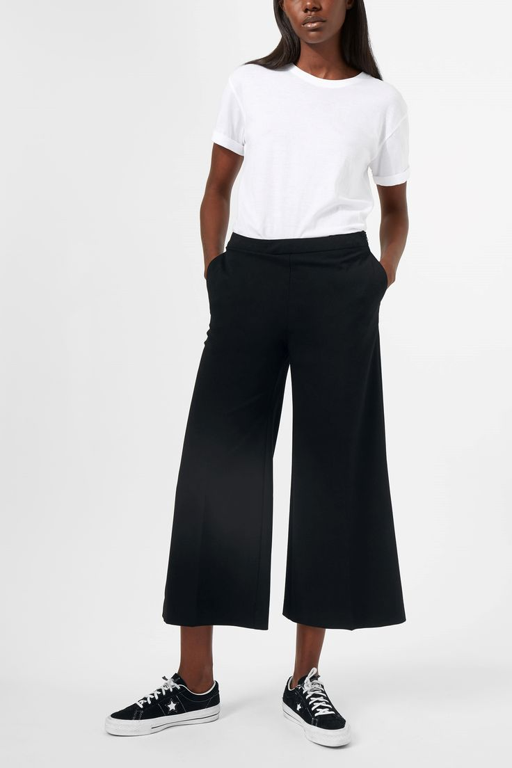 Weekday image 2 of Nora Trousers in Black