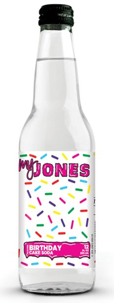 Custom labels for Jones Soda