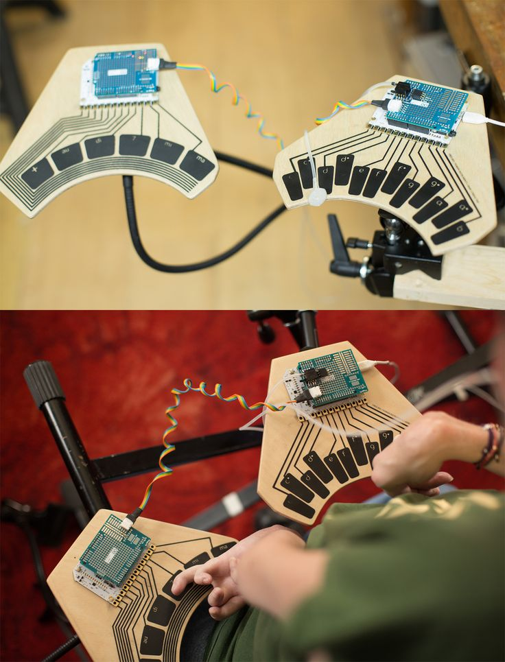 Bare Conductive teamed up with designer Vahakn Matossian to build an expressive digital instrument, flexible enough for people with disabilities. Made with the #TouchBoard and #ElectricPaint