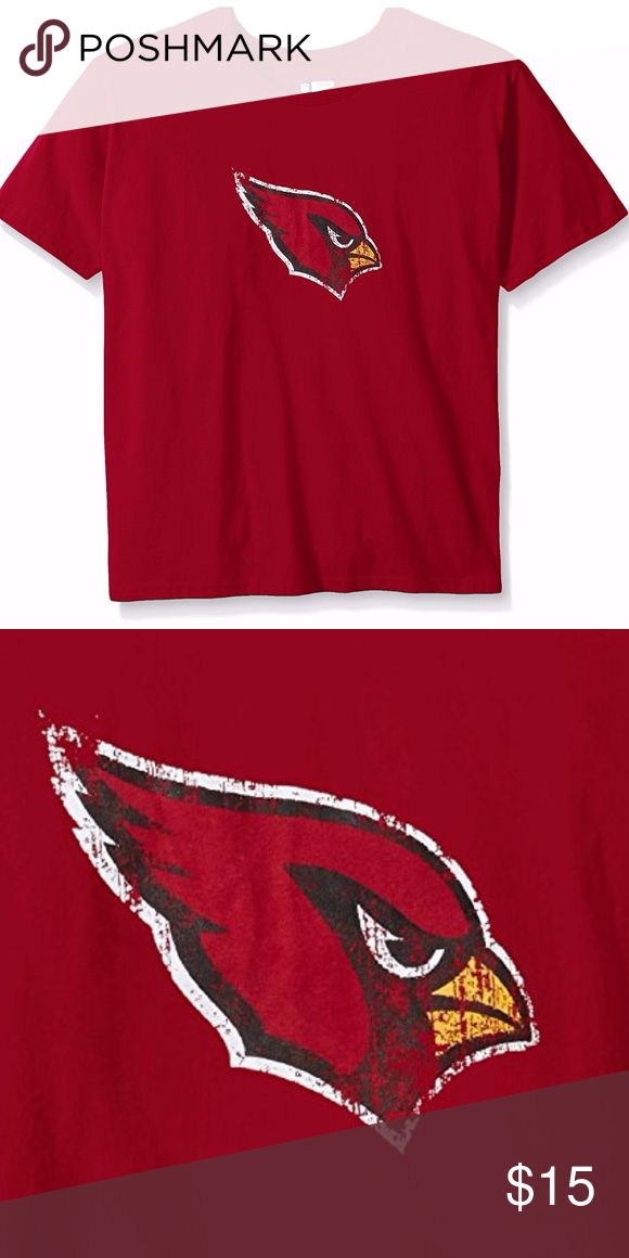 Arizona Cardinals Women's Plus Size Short Sleeve T Brand New Officially Licensed with tags. Show your Lions' pride in this comfortable 100% Cotton hard to find plus sized women's Tee. A classic style for those arm-chair quarterback Sundays with vintage logo on front and feminine lower ribbed neckline. 889758065307 NFL Tops Tees - Short Sleeve