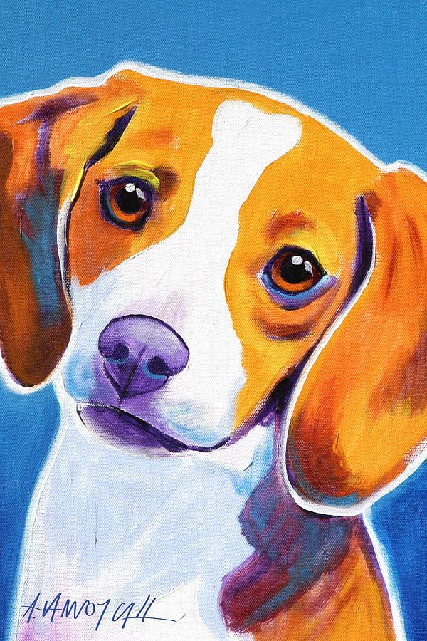 Beagle - Dixie Painting