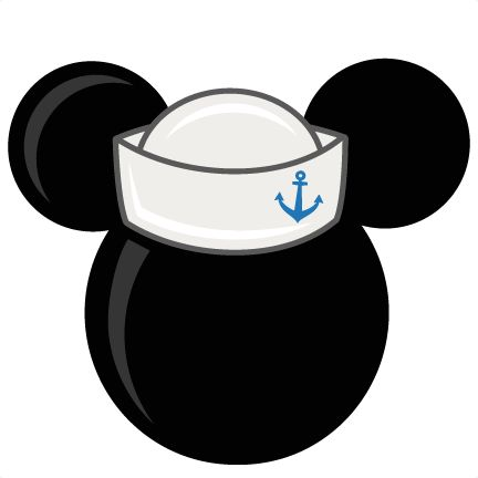 Mouse Head With Sailor Hat Freebies Free SVG files for scrapbooking free svg files for cricut machines free svg files