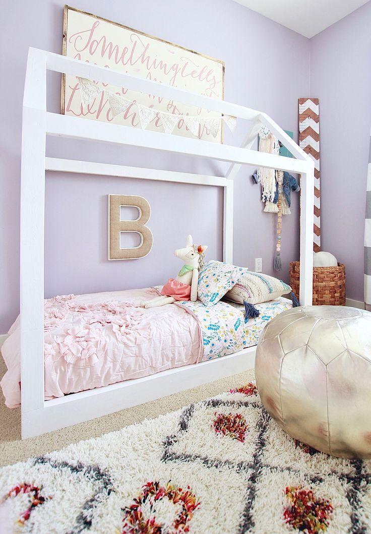 Diy Baby Girl Bedroom: Best 25+ House Beds Ideas On Pinterest
