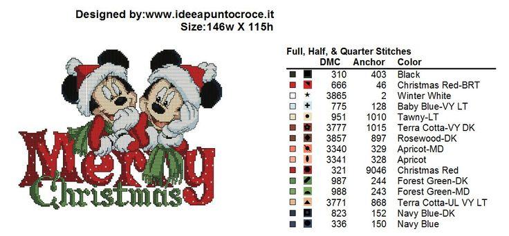 Mickey & Minnie Merry Christmas 3/3