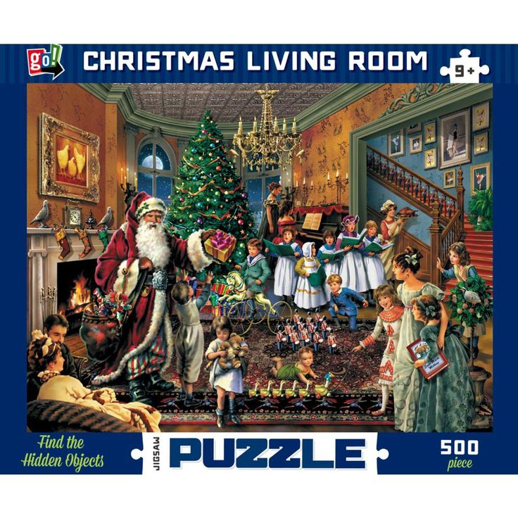 238 Best Jigsaw Puzzles Images On Pinterest Brain Teasers Christmas Scene Setters And