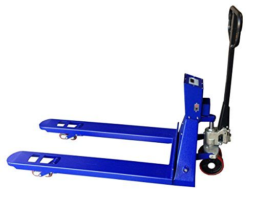 "SAGA Pallet Jack Scale 5500lb x 1lb, Pallet Jack With Digital Scale Brand New Pallet Truck Scale  LB/KG convertibleCapacity/Accuracy: 5,500 lbs. x 1 lbFork height: 3 1/3""lowered, 7 1/2"" raised. 220°  http://industrialsupply.mobi/shop/saga-pallet-jack-scale-5500lb-x-1lb-pallet-jack-with-digital-scale-brand-new-pallet-truck-scale/"