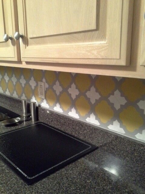 Kitchen Backsplash Easy Cheap 14 best budget kitchen backsplash ideas images on pinterest