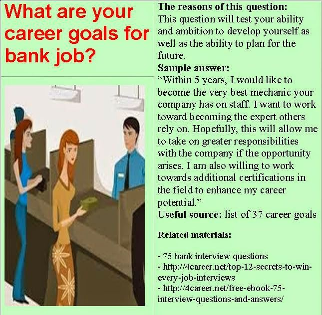 Assistant Manager Interview Questions Pleasing Bank Career Careerbank On Pinterest