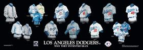 Heritage Uniforms and Jerseys: Los Angeles Dodgers Uniform and Team History