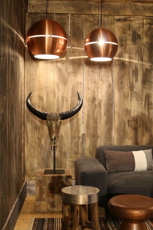 Zuiver Lampa Wisząca Retro '70 Miedziana Duża 5300026 : Lampy wiszące metalowe : Sklep internetowy Elektromag Lighting #copper #lamp