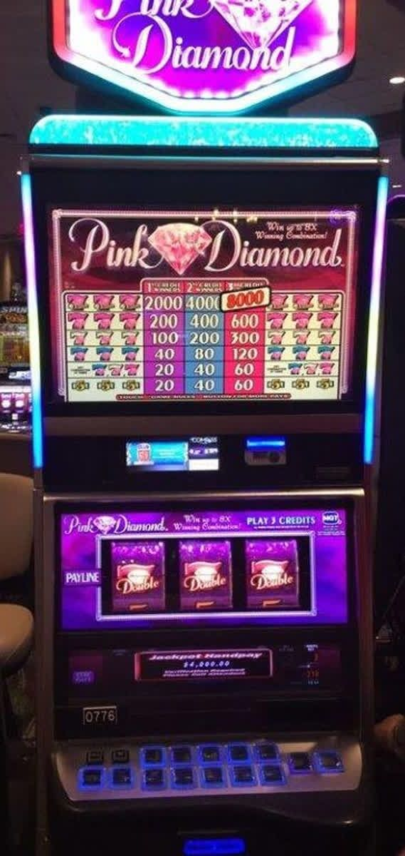 Pink diamond slot machine for sale gambling addiction help los angeles