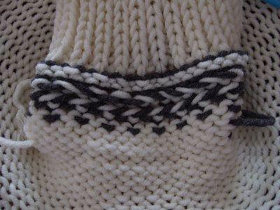 Addi Express o Prym Maxi - tutorial Cappuccio con lavorazione maglia jacquard e ricamo jacquard |Chiocciolina creativa