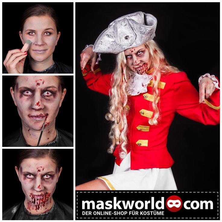 #halloween #horror #makeup #mua #karneval #carnival #fasching #funkemariechen #zombie #zombies
