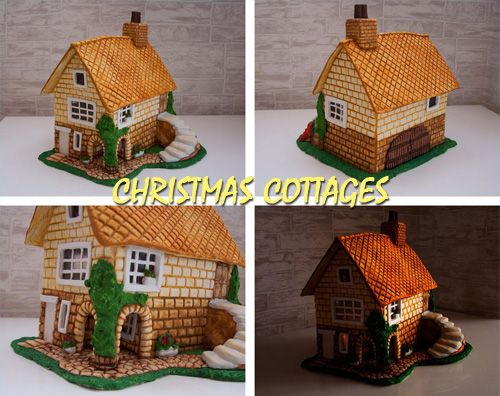 Christmas cottages. Ideas and MK | GOOD HOUSE WIFE
