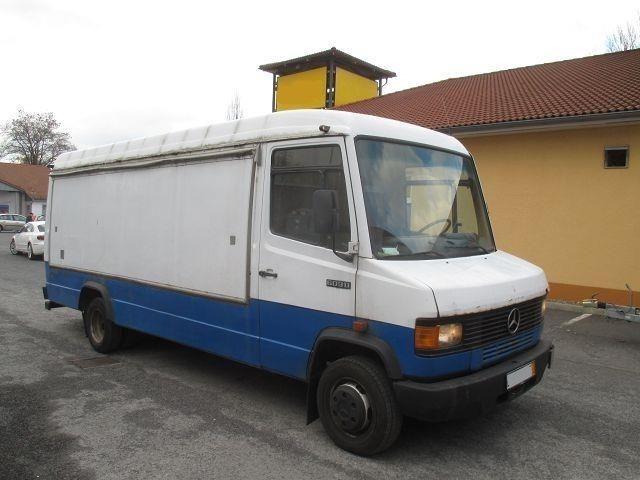 Mercedes-Benz 609 D KA maxi Kasten 4250 Verkaufswagen, Transporter Sonstige in Berlin Niederschöneweide, gebraucht kaufen bei AutoScout24 Trucks