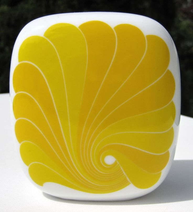 Design-Highlight 1970er: Rosenthal Vase Karnagel/Nairac!