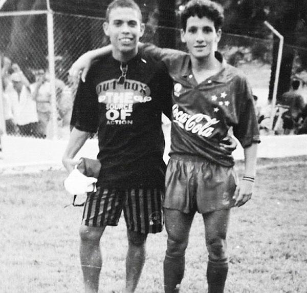 Ronaldo e Belletti. 90's @ Cruzeiro Esporte Clube (Belo Horizonte, MG, BR)