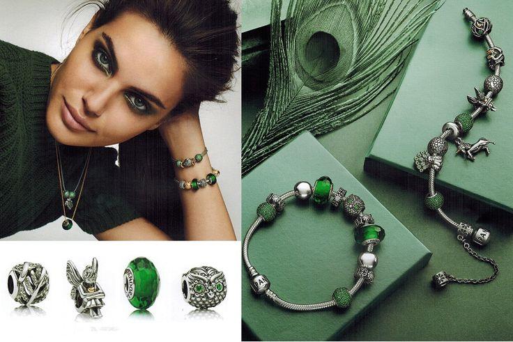On a craqué pour la collection Pandora automne hiver 2013 - Forêt enchantée.  Créature légendaire et couleurs de l'automne sont à l'honneur !