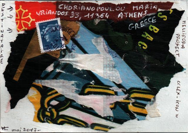 resist mail art festival: 131. CERAVOLO VALERIE (FRANCE)