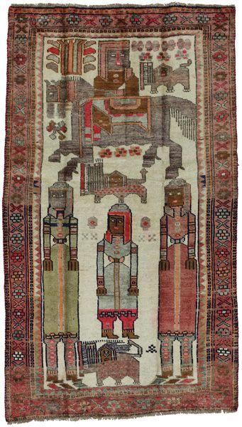 Bakhtiari - Qashqai Persialainen matto 200x113