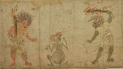 Hungry Ghosts in early Buddhism. Sultne spøkelser i tidlig buddhismen. Gaki Zoshi, Tokyo National museum. 1100-tall   by saamiblog