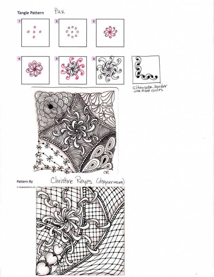 226 best Zentangles, patterns and ZIA images on Pinterest