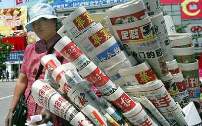 Media Cina South China Morning Post menyoroti tentang berita palsu sentimen anti Cina yang kini...