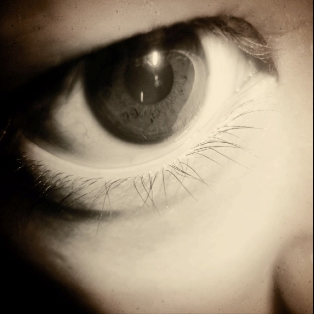 Look into my eyes, and see how it hurts.