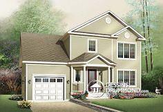 Plan de maison no. W3439 de dessinsdrummond.com