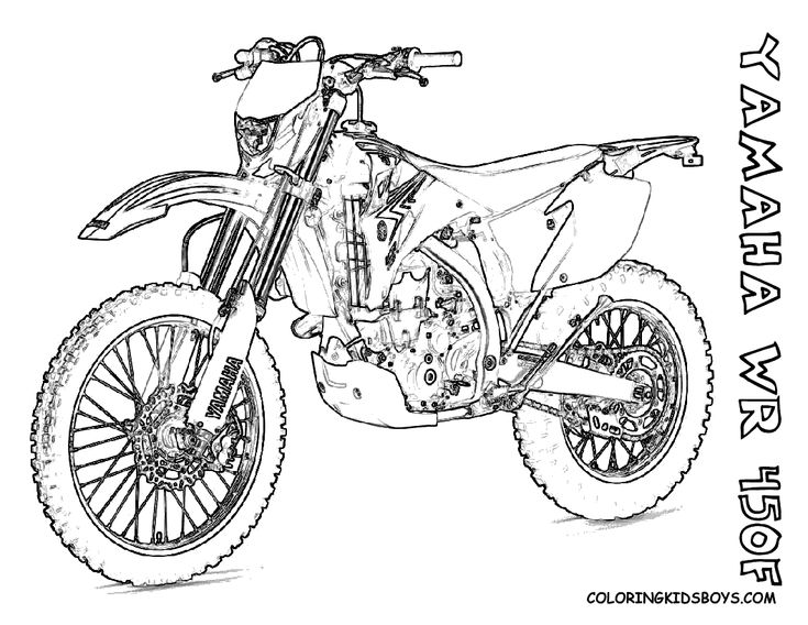 30 best Mighty Motorcycle Coloring Pages images on