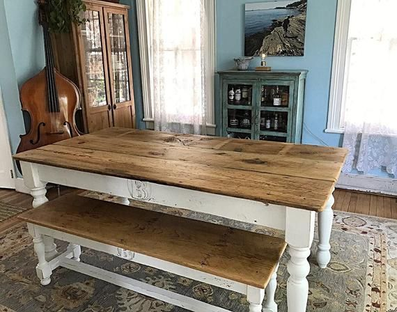 The 6 Foot Family Farm Table Etsy Farmhouse Table Reclaimed Barn Wood Farm Table