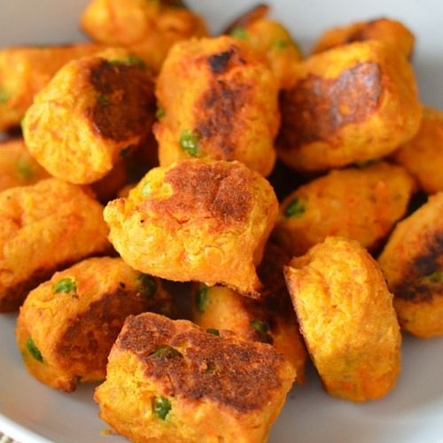 Sweet Potato, Lentil And Cheddar Croquettes