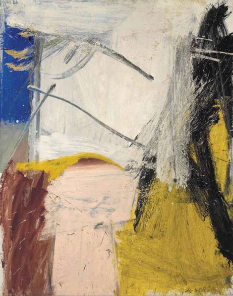 Willem de Kooning, September Morn, 1959 on ArtStack #willem-de-kooning #art