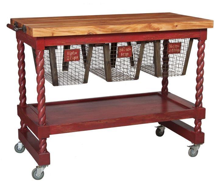 Timeless Classics Rolling Butcher Block Furniture Likes