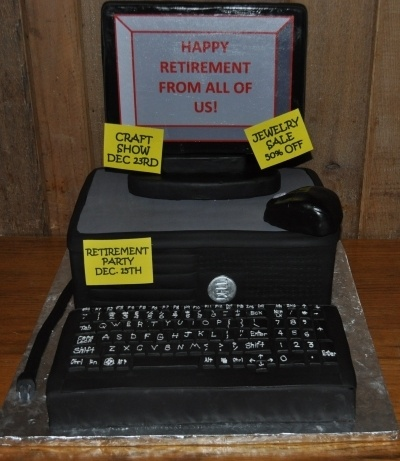 17 Best Ideas About Computer Cake On Pinterest Fondant
