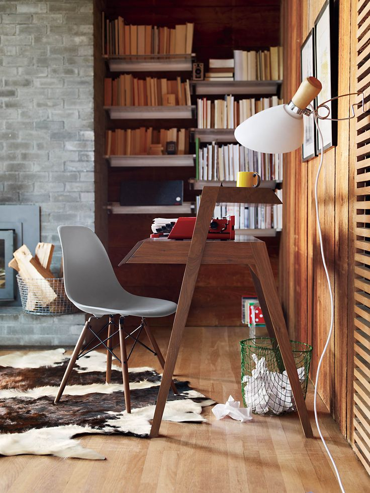 Primary Desk   Designed by Nathan Yong  DWR, Styled by Studio Marcus Hay