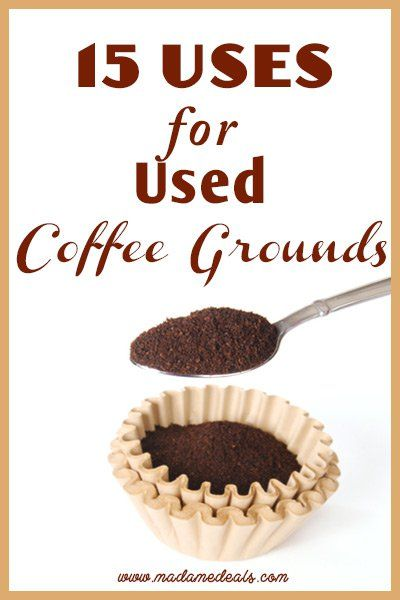"""Blog post at Real Advice Gal : Uses for Coffee Grounds   After you brew your morning coffee, what do you do with the used coffee grounds? If you said, """"I throw them a[..]"""