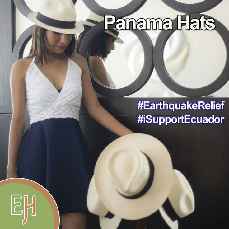 Ecuador united is a strong country. Let us all unite to revive the country's economy and buy #FedoraHats. With this we help artisans affected after the earthquake that hit Ecuador on 4/16. #EarthquakeRelief #iSupportEcuador. GO SHOP>> http://www.ecuadorianhands.com/en/panama-hats-c.html
