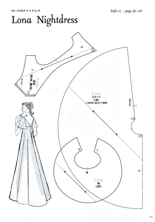 Lona Nightdress Pattern - Page 1 of 3