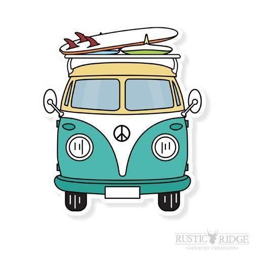 Volkswagen Aufkleber Volkswagen Bus Laptop von RRCountryCreations – #Aufkleber #… #Zeichnen-Motive
