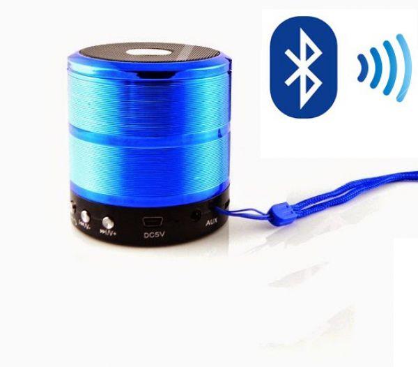 Caixa De Som Speaker Com Bluetooth Ipad, Iphone, Ws887 FM.