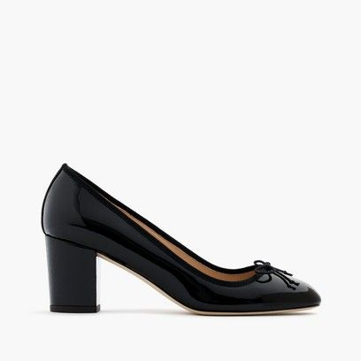 Sophia Pumps in Patent Leather : Women's Shoes | J.Crew