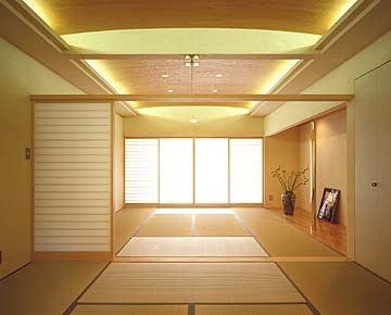 Japanese inspired decor.