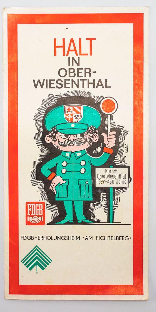 """DDR Museum - Museum: Objektdatenbank - """"Halt in Oberwiesenthal"""" Copyright: DDR Museum, Berlin. Eine kommerzielle Nutzung des Bildes ist nicht erlaubt, but feel free to repin it!"""